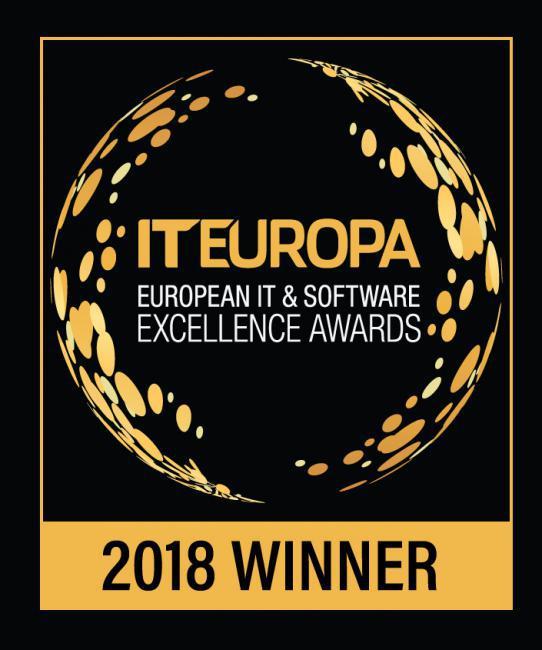IT Europa 2018 Winner Logo