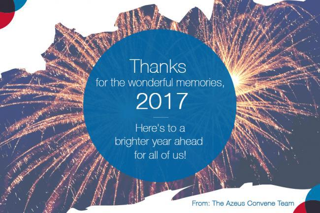 Azeus Convene 2017 Greetings and Highlights